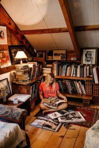 Sixties bedroom design