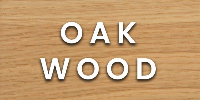 oak wood example