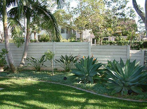 timbercrete fence